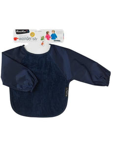 Mum2Mum Long Sleeved Wonder Bib - Navy