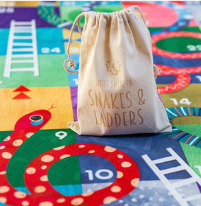 Little Smith Co Snakes and Ladders Play Mat Game