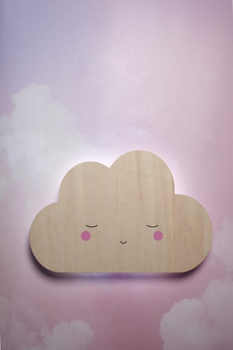 Teeny and Tiny Wall Mounted Tap Light - Cloud