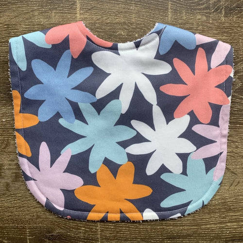 Tilda and Moo X Mosey Me Bloom Designer Classic Bib