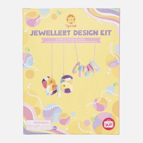 Tiger Tribe Jewellery Design Kit - Super Clay