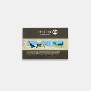 PRE ORDER Two Little Duckings Prehistoric Memory Snap Cards