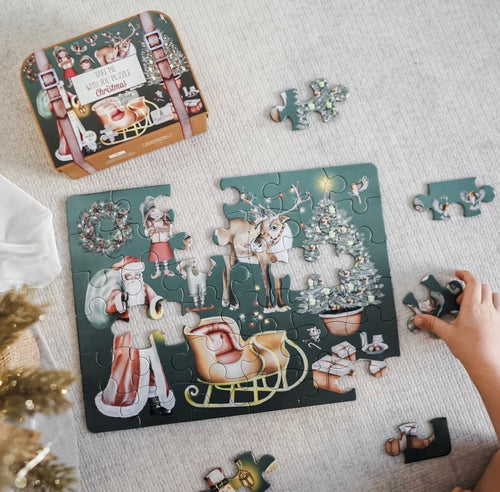 "PRE ORDER Modern Monty ""Take Me With You"" Puzzle - Christmas"