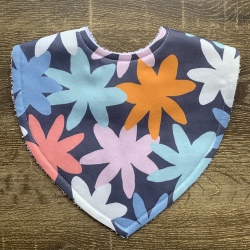 Tilda and Moo X Mosey Me Bloom Designer Triangle Bib