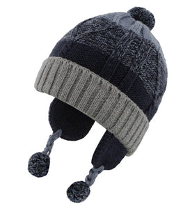 Dozer Baby Boys Beanie - Charlie Blue REFER PHOTOS