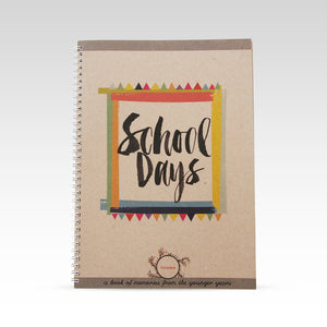Rhi Creative School Days Memory  Record Book