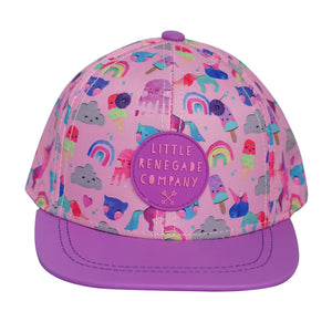 Little Renegade Company - Snapback Cap Unicorn Friends