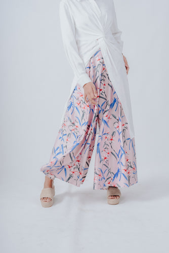 Aludra Blush Pleated Swing Pants (Instocks)
