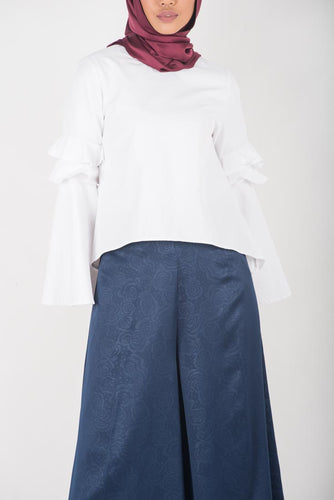 Navy Rose Swing Pants (Instocks)