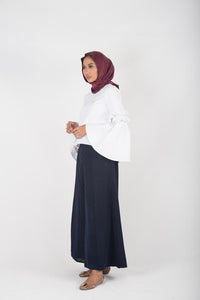 Anggun Swing Pants Prettynavy (Instocks)