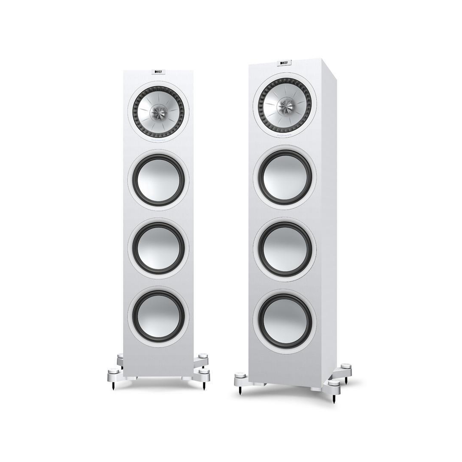 kef q950 floorstanding speakers black