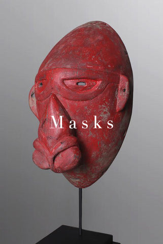 Ewa Gallery New Guinea Masks