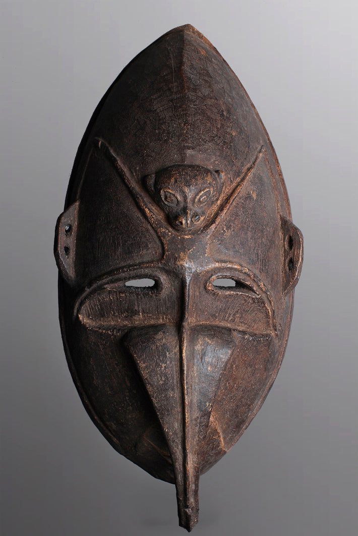 Large Kwoma Ceremonial Mask ~ Price On Application