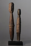 A Pair of Wosera Sago Pegs  ~ Price on Application