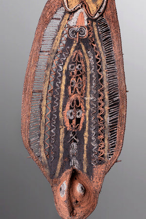 Large Woven Abelam Yam Mask ~ Price On Application