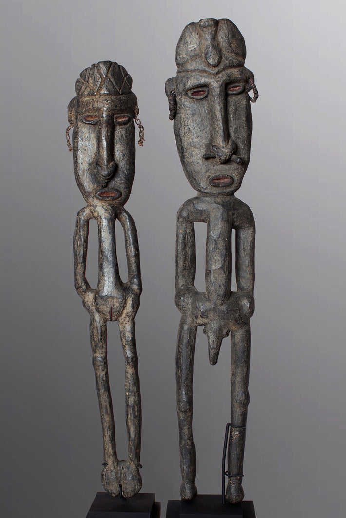 A Pair of Classic Boiken Ancestral Figures ~ Price On Application