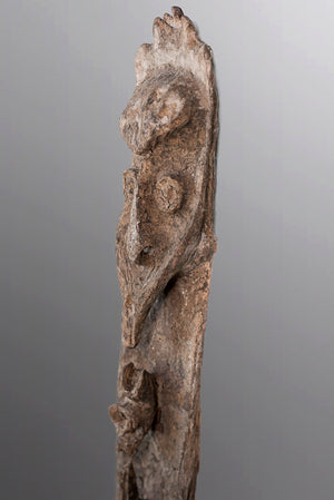 Female Karawari Cave Sculpture ~ Price On Application