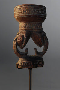 Old Lower Sepik Mortar ~ Price On Application