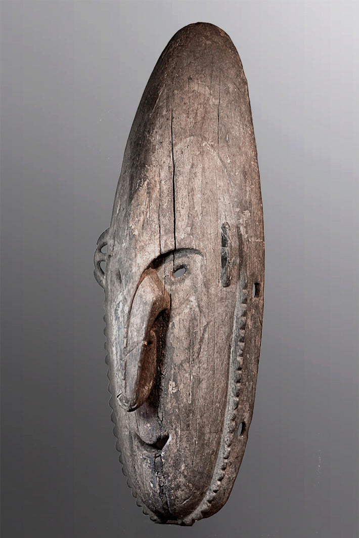 Large Lower Sepik Dance Mask ~ Price On Application