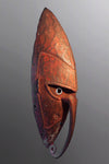 Trade Paint Red Lower Sepik Mask ~ Price On Application