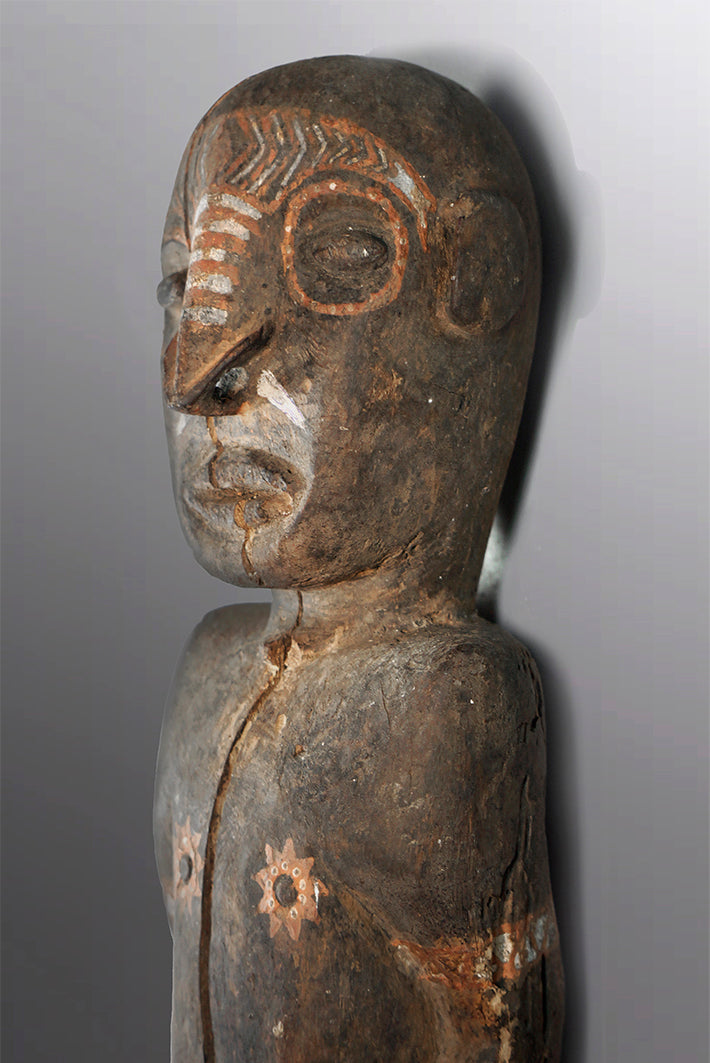 Middle Sepik Ancestral Figure ~ Price on Application