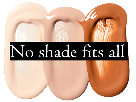 How to make the wrong foundation shade work?