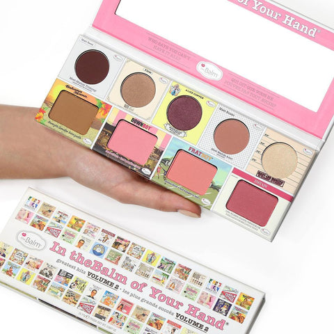 In theBalm of your hand palette| Klosmic India