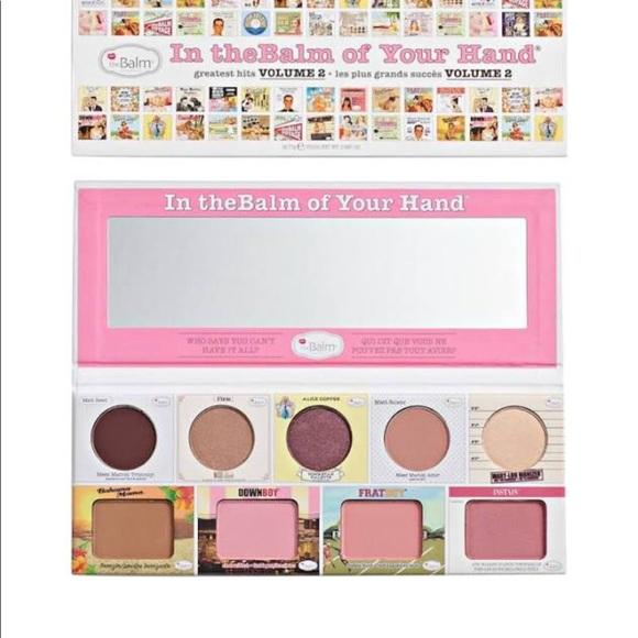 The Balm In theBalm of Your Hand Palette| Klosmic India