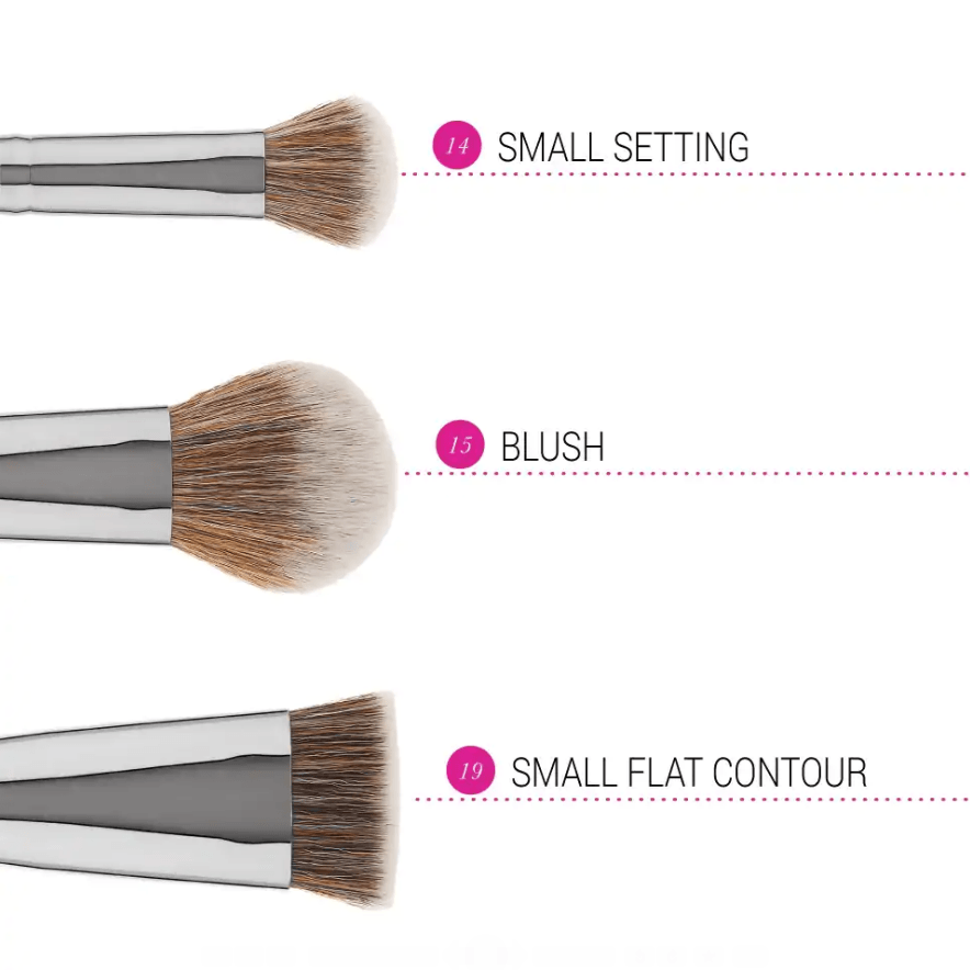 Bh Cosmetics Studio Pro Brush Set - Blush/Contour