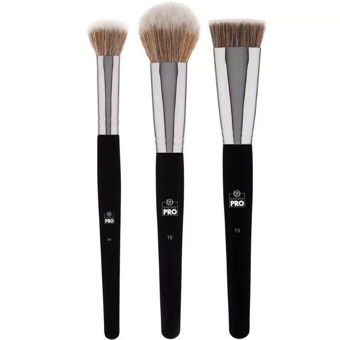 Bh Cosmetics Studio Pro Brush Set - Blush/Contour | Klosmic India