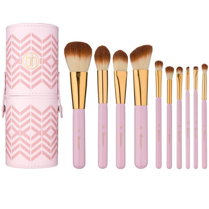 Bh Cosmetics Pink Perfection 10 Piece Brush Set| Klosmic India