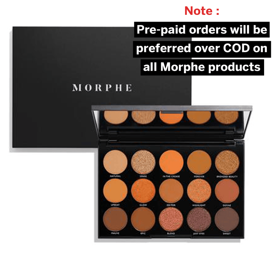 Morphe 15D Day Slayer Eyeshadow Palette - Klosmic India