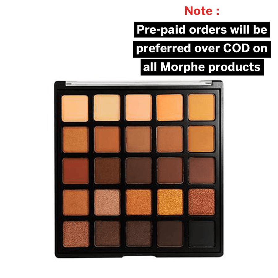 Morphe 25A Copper Spice Eyeshadow Palette - Klosmic India