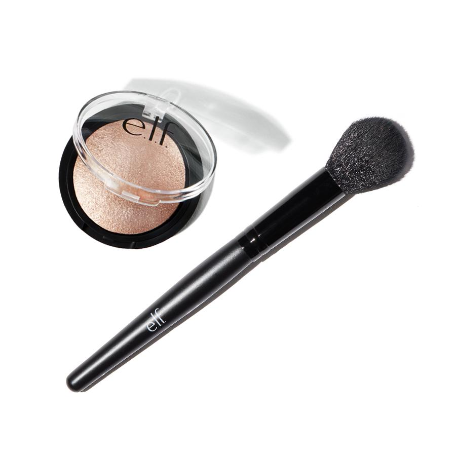 Elf Baked Highlighter and Brush Duo