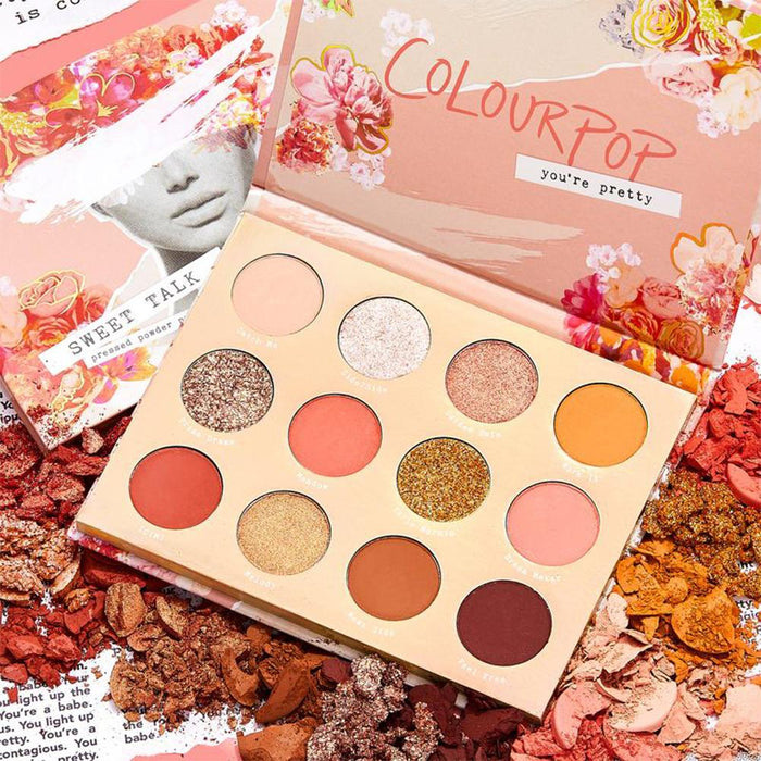 Colourpop Sweet Talk Palette | Klosmic India