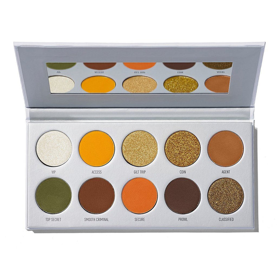 Morphe X Jaclyn Armed And Gorgeous Eyeshadow Palette