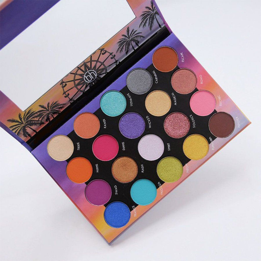 Bh Cosmetics Weekend Festival - 20 Color Shadow Palette