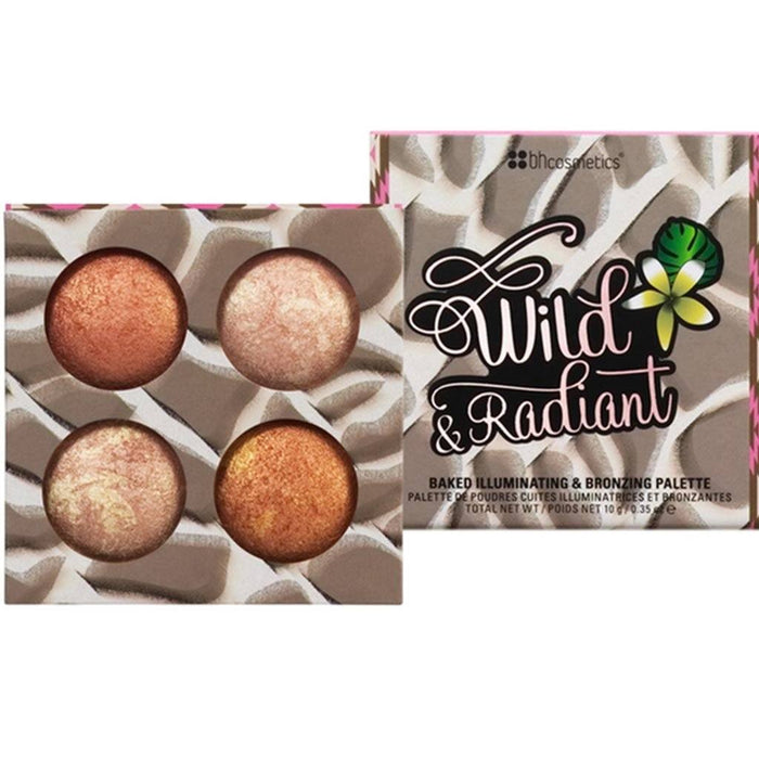 Bh Cosmetics Wild & Radiant Baked Illuminating Palette | Klosmic India