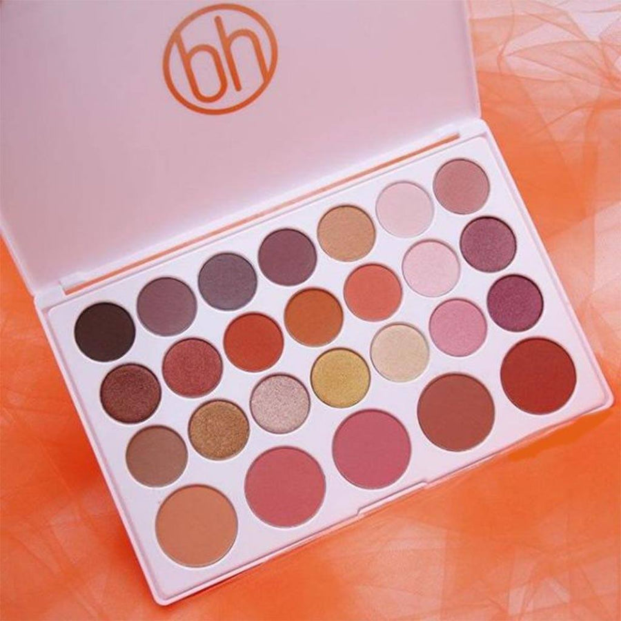 Bh Cosmetics Nouveau Neutrals - 26 Color Shadow & Blush Palette