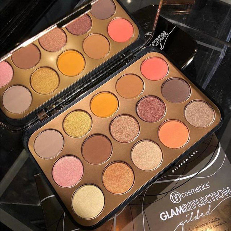 Bh Cosmetics Glam Reflection - 15 Color Shadow Palette: Gilded