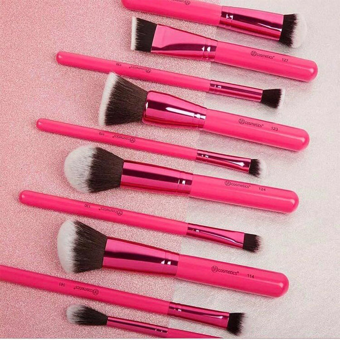 Bh Cosmetics Sculpt and Blend Fan Faves Brush Set | Klosmic India