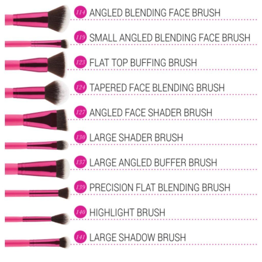 Bh Cosmetics Sculpt and Blend Fan Faves - 10 Piece Brush Set