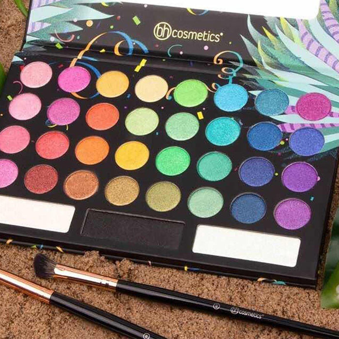 Bh Cosmetics Take Me Back To Brazil: Rio Edition - 35 Color Shadow Palette - Klosmic India
