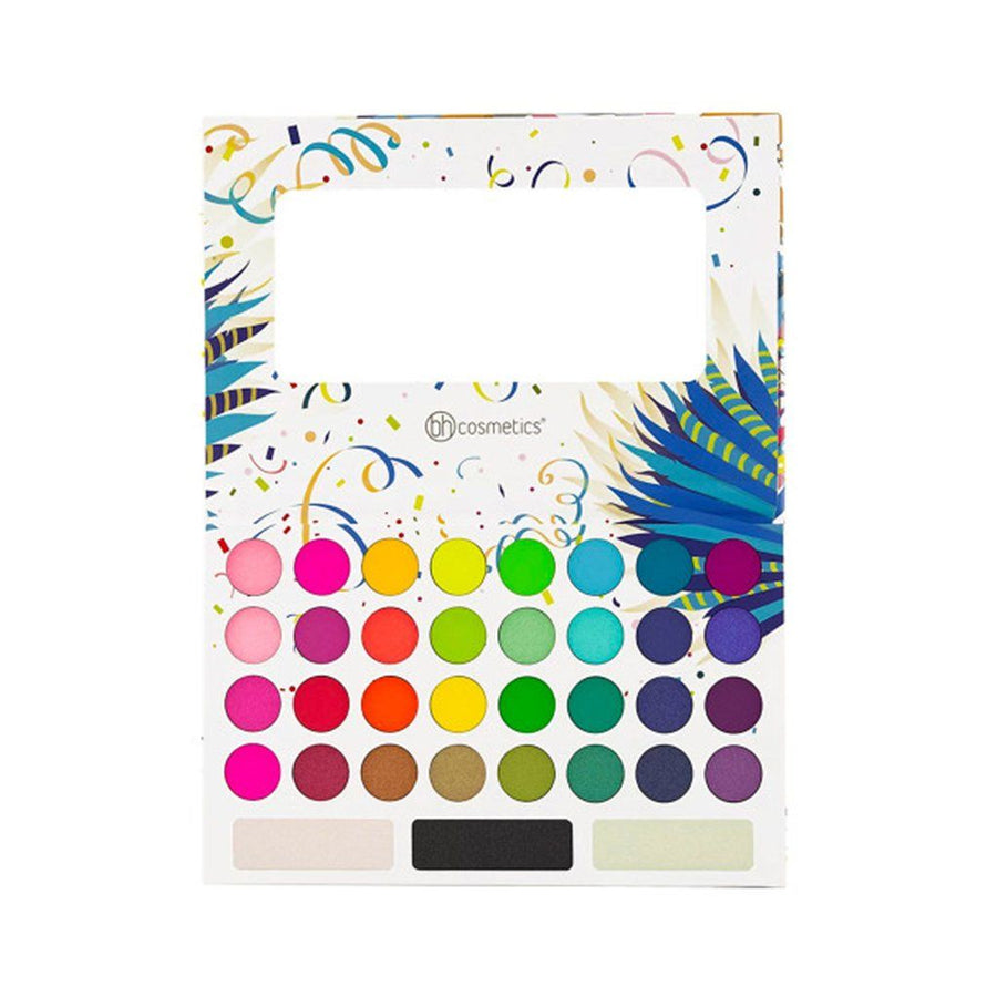 Bh Cosmetics Take Me Back To Brazil 35 Color Pressed Pigment Palette - Klosmic India