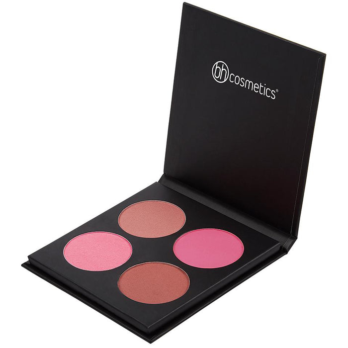 BH Cosmetics Blushed To Go - 4 Color Blush Palette - Klosmic India