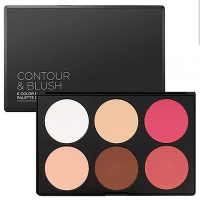 BH Cosmetics Contour and Blush Palette - Klosmic