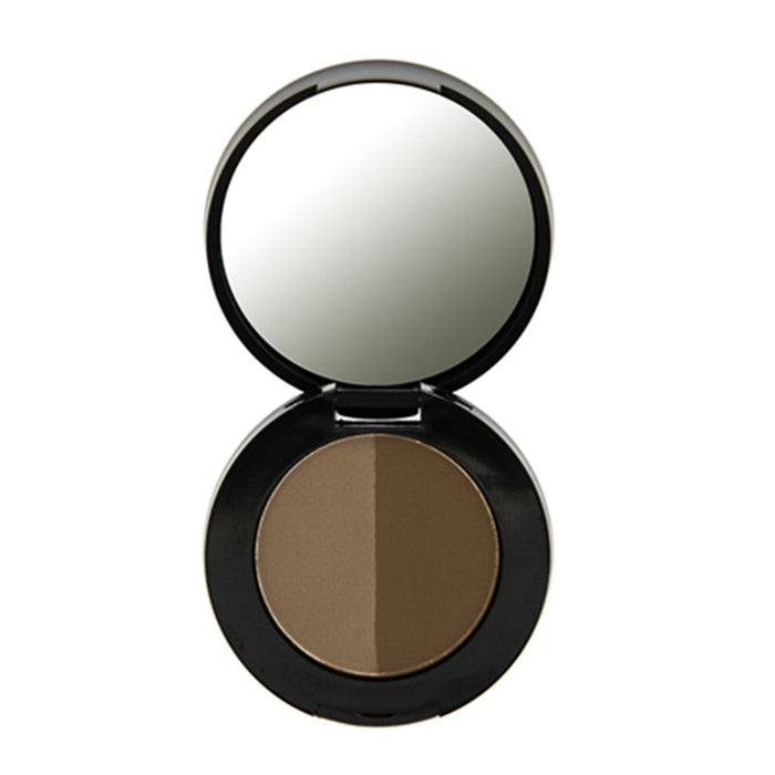 Freedom Makeup London Duo Eyebrow Powder - Dark Brown - Klosmic