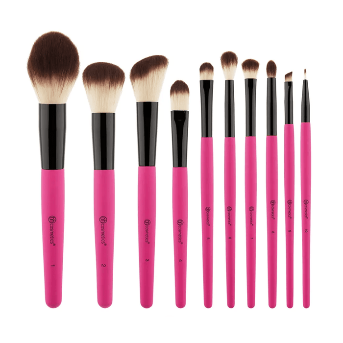 Bh Cosmetics Weekend Festival 10 Piece Brush Set | Klosmic India