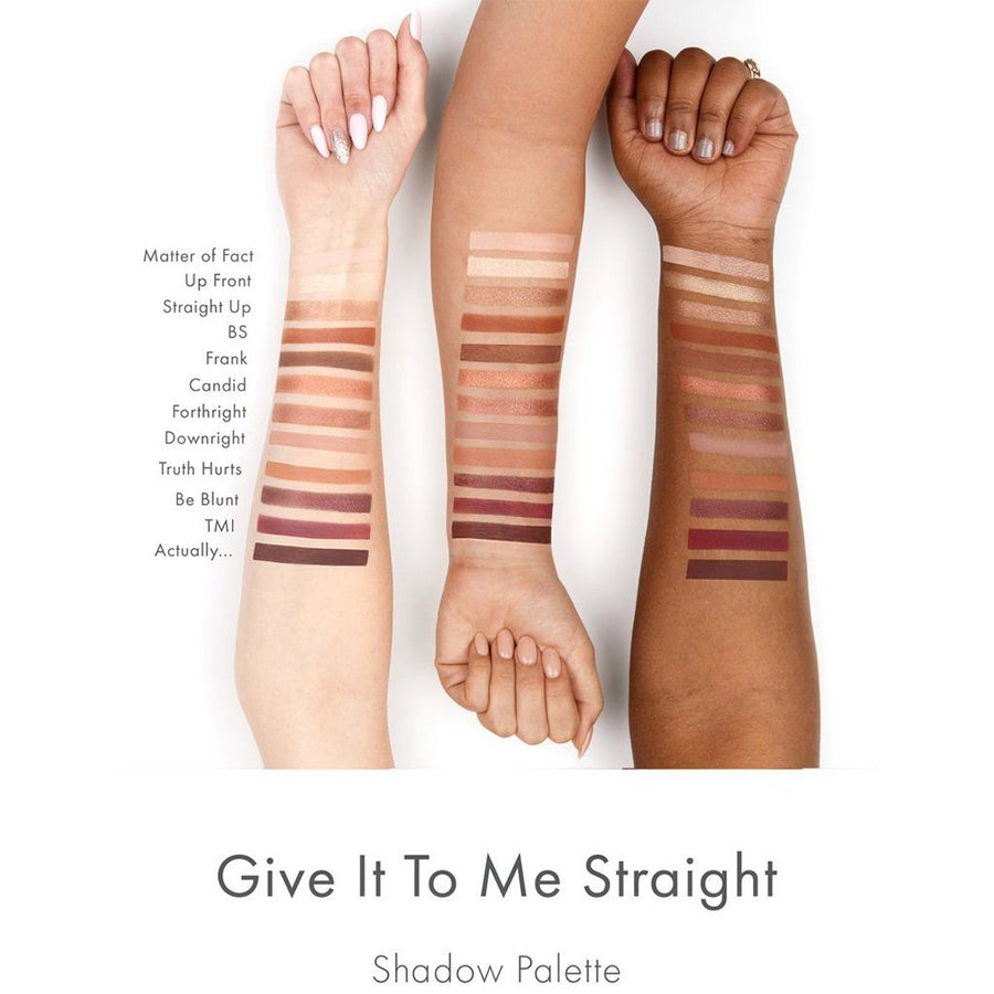 Colourpop Give It To Me Straight Eyeshadow Palette