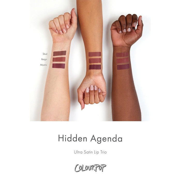 Colourpop Hidden Agenda Lip Bundle - Klosmic India